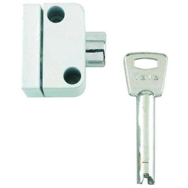 Window Push Lock 2 Locks 1 Key YALE 8K102