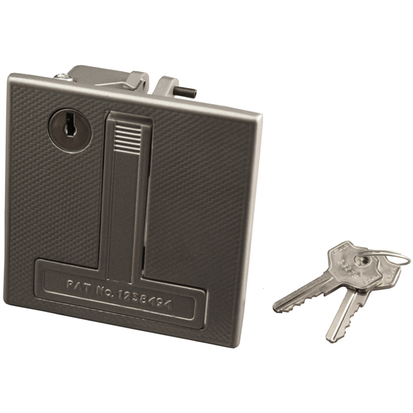 Flush Merlin Garage Door Lock HENDERSON 002039