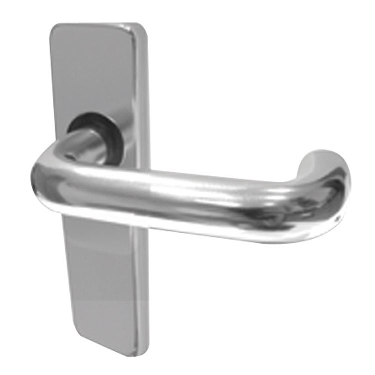 Jedo Aluminium Round Bar Latch Type Door Handles