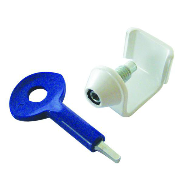 YALE 121 Transom Window Lock (1 Lock and 1 key supplied)