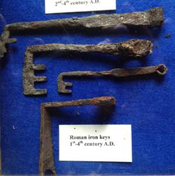 Roman Iron Keys