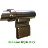 Gibbons Key Blank