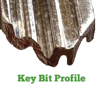 Key Bit Cylinder Profile