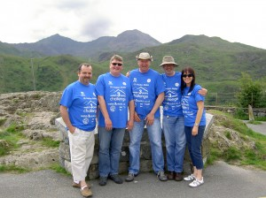 Snowdon in the background