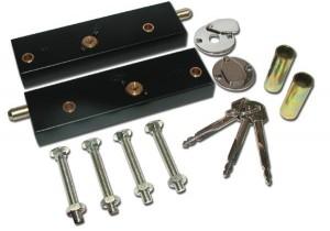 Photo of Asec Garage door bolt lock kit