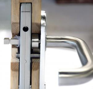 Internal View of Spindle in Door