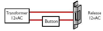 Access Control lock schematic