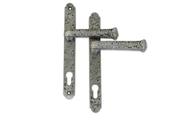 Pewter Traditional 92 PZ Lever Handles - 240mm (212mm Fixings)