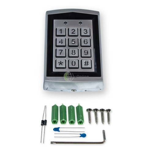 Standalone Keypad and Proximity Reader