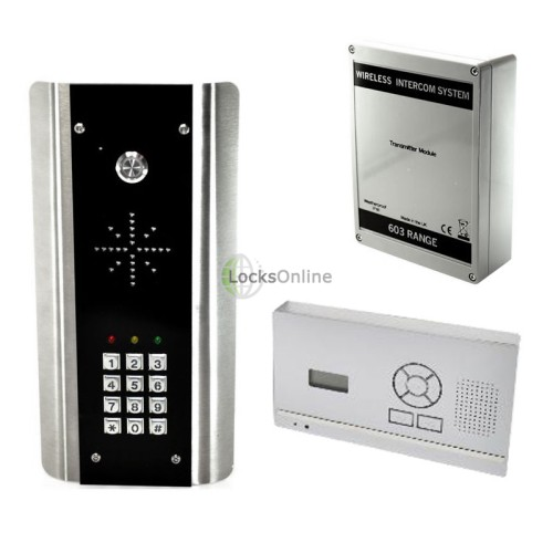 Main photo of AES Entrée Hands-Free Wireless Front-Door Intercom & Entry System
