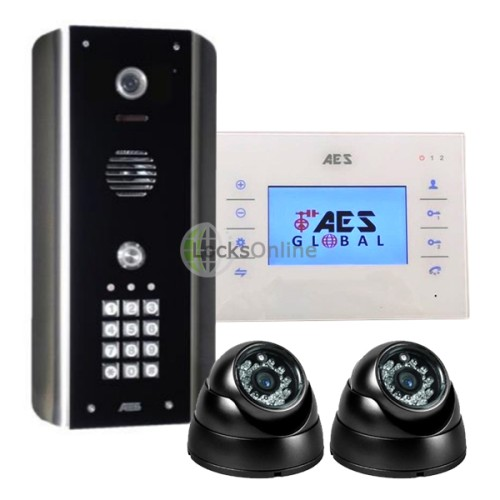Main photo of AES Stylus Home Video Entry System