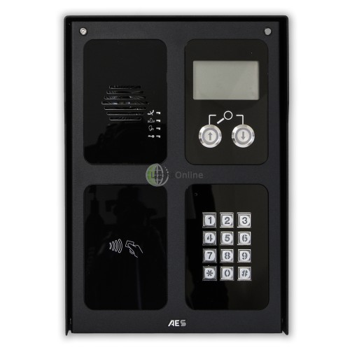 AES Design & Build Modular GSM Door Access Intercom