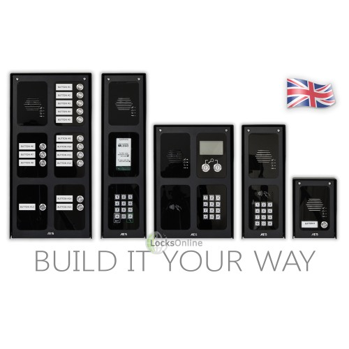 Main photo of AES Design & Build Modular GSM Door Access Intercom