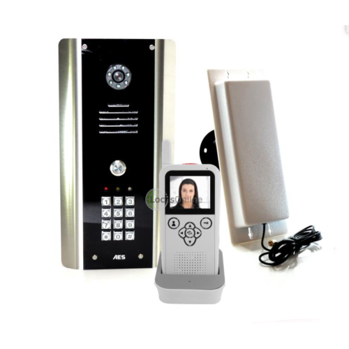Main photo of AES Wireless Video Door Entry System AES V-Entree