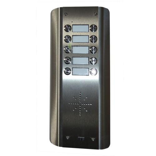 AES Prime GSM Wireless Door Intercom & Door Opener for Up To 10 Flats