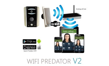 AES Predator WiFi Video Intercom for SmartPhones