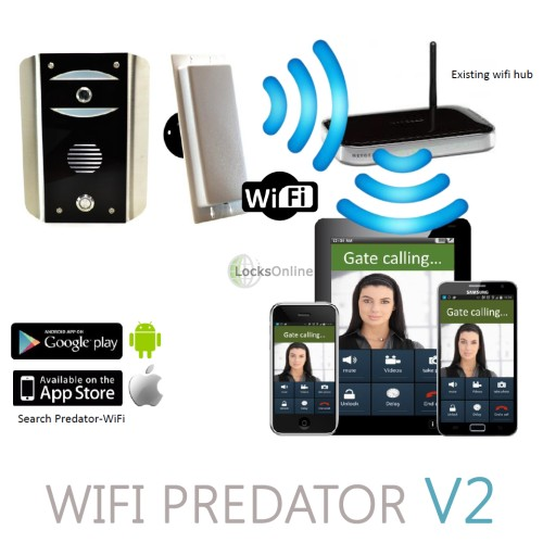 Main photo of AES Predator WiFi Video Intercom for SmartPhones