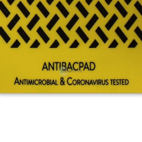 """ANTIBACPAD"" Antimicrobial Door Push Pad / Fingerplate"