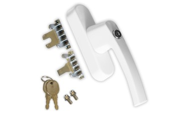 Universal Fork / Blade Tilt & Turn Locking Window Handles