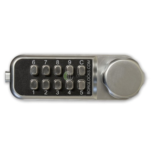 Borg Mini Horizontal Combination Lock for Cabinets & Lockers