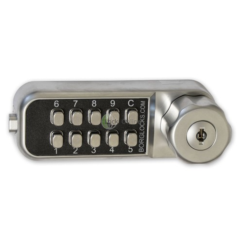 Main photo of Borg Mini Horizontal Combination Lock for Cabinets & Lockers