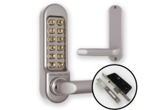 Borg 5003 Combination Lock (DDA Handles) + Euro Lock