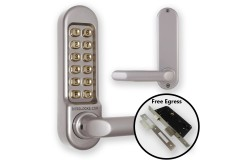 Borg 5004 Combination Lock (DDA Handles) + Escape Lock