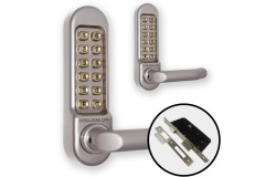 Borg 5053 Combination Both Sides (DDA Handles) + Euro Lock