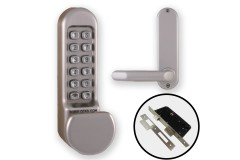Borg 5103 Combination Lock (Flat Knob & Handle) + Euro Lock