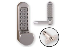 Borg 5151 Combination Both Sides (Flat Knob & Handle) + Latch