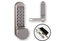 Borg 5153 Combination Both Sides (Flat Knob & Handle) + Euro Lock