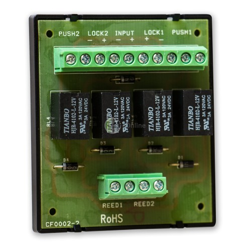 GEM 2-Door Interlocking Relay Module