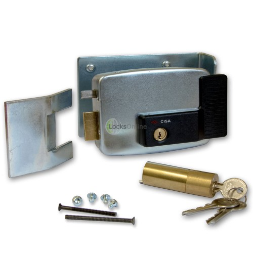 Cisa 11823 Series Electric Lock External Gates Garage Doors