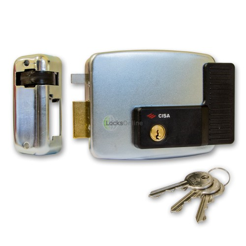 Main photo of Cisa 11921 Series Electric Lock for Metal Doors and Gates