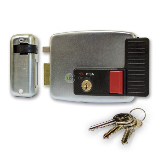 Main photo of Cisa 11931 Series Electric Lock for Metal Doors and Gates
