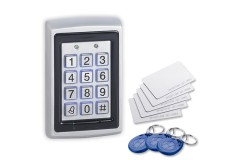 Standalone Keypad and Prox Reader with Bell Button