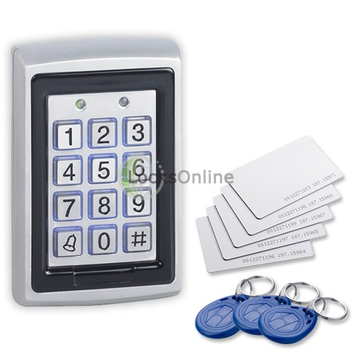 Main photo of Standalone Keypad and Prox Reader with Bell Button