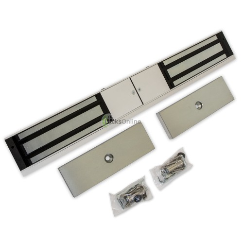 LocksOnline EM40 Monitored Double Maglock for Double Doors