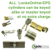 Locksonline EPS Key and Turn Euro Cylinders