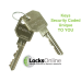 Locksonline EPS Key Security Euro Cylinders