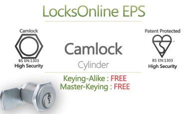 Locksonline EPS High Security Cylinder Camlocks