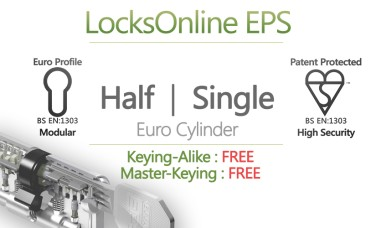 Locksonline EPS Single Euro Cylinders