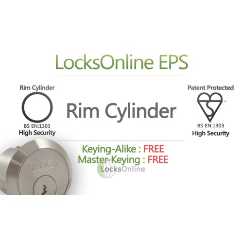 Main photo of Locksonline EPS Rim Cylinders