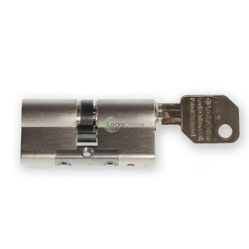 """LocksOnline EPS """"Blind"""" Key Operated Euro Cylinder (Blank One Side)"""