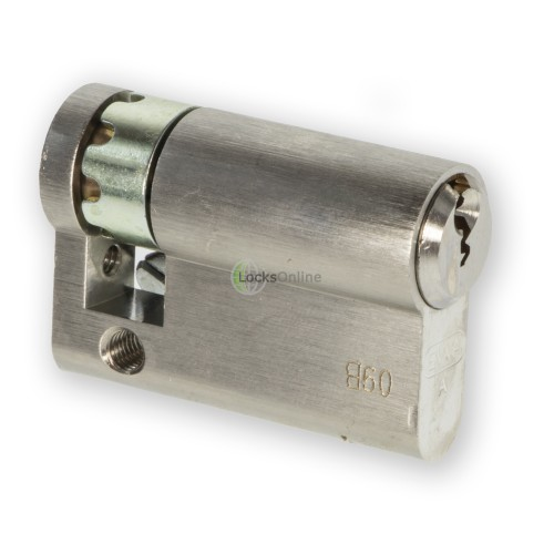 LocksOnline EPS Rear-Fixed Euro Cylinder for Panic Hardware