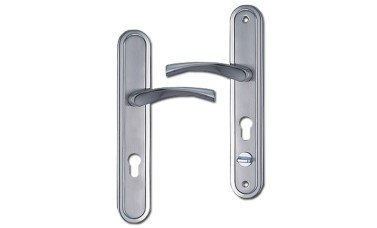 Hooply 68 PZ Lever Handles with Thumbturn - 278mm (234mm fixings)