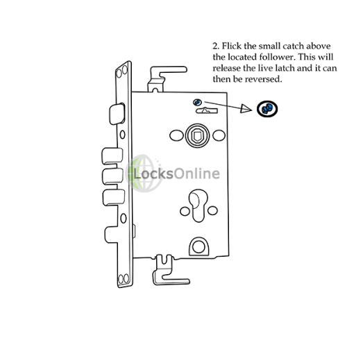 Steel Door and Container Lock and Handles