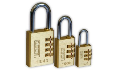 KASP Brass Combination Padlocks
