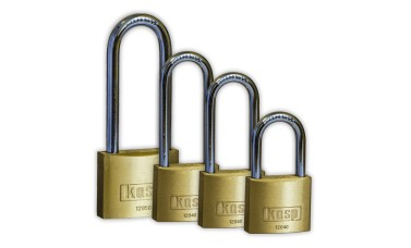 KASP Brass Long Shackle Padlocks