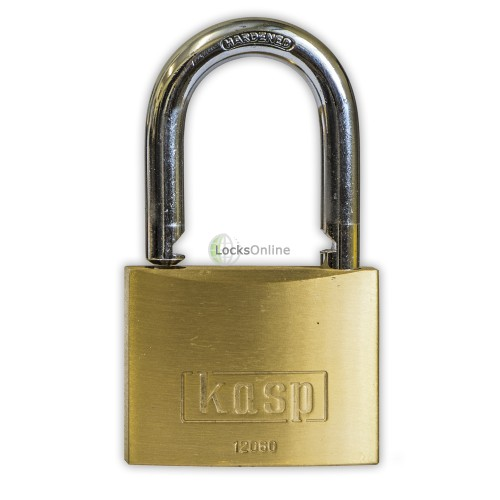 KASP Brass Open Shackle Padlocks
